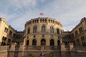 Stortinget Fasaden