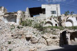 Husødeleggelser i Palestina. Foto: Privat