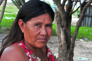 En kvinne fra Sawhoyamaxa-folket.  Foto: Flickr/CC BY-NC-SA 2.0/ Patricia Lopez