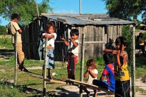 Barn fra Sawhoyamaxa-folket. Foto: Flicker/CC BY-NC-SA 2.0/Patricia Lopez