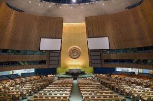 FNs generalforsamling diskutere narkotika og menneskerettigheter i februar 2016.  Foto: flick.com, Luke Redmond.