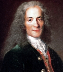 """I do not agree with what you have to say, but I'll defend to the death your right to say it"", said Voltaire, a French philosopher. Credits: Nicolas de Largillière/Wikimedia Commons"