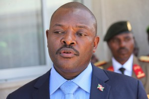 President Pierre Nkurunziza. Photo: Ilyas A. Abukar/Flickr Commons