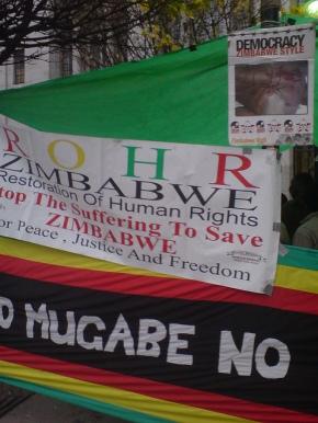 Bleke utsikter for menneskerettigheter iZimbabwe